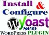 Setup Wordpress Yoast SEO Plugin and Onpage SEO Optimization