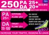 Do Manually 250 High Da Pa Blog Comment Backlinks