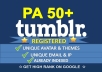 Find and Register 2 Expired Tumblr PA50 Plus Unique IP