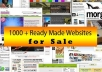 1500 Turnkey Websites And PHP Scripts With Resell Rights