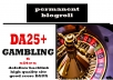 Give Link Da25x6 Site GAMBLING Blogroll Permanent