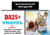 Give Link Da25x6 Site TRAVEL Blogroll Permanent