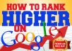 PROVEN RANKING STRATEGY TO RANK HIGH ON GOOGLE