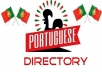 Create 21 High PR Portugal Directory Or Portuguese Directory