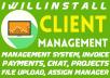 Make Client Management And Client Portal PHP Script