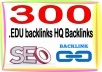 Boost Site Alexa Rank with 300 .edu backlinks