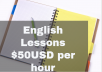 Teach  English Lessons