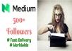 25 Medium Followers for medium profile