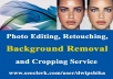 Product Images Background Remove and Retouch