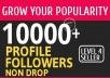 Add 10000+ High Quality Fast Profile Followers