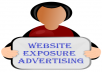 Promote Website Exposure For Potential Ad Signups Or Sales