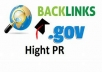 Get 40 do-follow Edu / Gov and 70 web 2/Social bookmarks to improve your google ranking page
