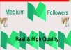 get 500+Medium Followers High Quality+1000 claps Instant