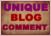 Provide High Quality 10 Blog Comments Submission