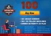 create 100 unique domains do follow backlinks