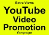 YouTube Video Promotion Real Audience & Good For Ranking