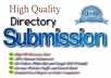 Manually I Will Give You 25 Directory Submission