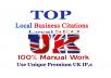 Manually create top UK local directories