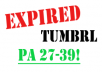 Get 10 strong expired Tumblr with PA 27-39