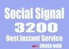 Manually 2000 Improving website social signals