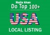 do top 5 live US local listing