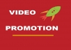provide you  500 Targeted  High Retention video Promotion hits with EXTRAS