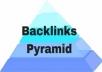 Most Powerful Tier-3 Link Pyramid, White Hat Organic SEO Service – Guaranteed Ranking