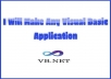 Create Any Visual Basic Application
