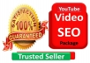 Best video SEO Package for your Video and 2000 Audience with Best Quality