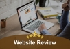 Professionally Critique your Website for best result