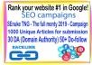 SEO Rank campaigns- SEnuke TNG - The full monty 2019 -1000 Unique Articles for submission-30 PR9 - DA (Domain Authority) 70+