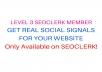 REAL SOCIAL SIGNAL SERVICE