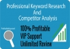 Professional Keyword Research and Analysis