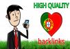 12 Quality forum backlinks Portugal