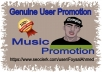 Music Promotion 20K Music Listening & Other Promotion For Your Track