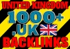Get over 1000 United Kingdom .UK backlinks
