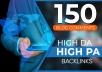 Do 150 Blog Comments High Da High Pa Dofollow Backlinks