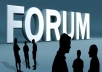 Give you 650 forum posting backlink from high DA/PA forum site