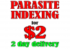 Fast Parasite Indexing - Backlink Blast + Ping + More
