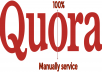 High Quality 10 Quora Answer posting your keyword And Url