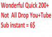 INSTANT YouTube Promotion And Social Media Marketing
