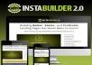 Install Instabuilder 2 and Backup Buddy Pro