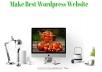 Make Best Wordpress Website