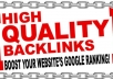 do 25 Unique domain Dofollow Blogcomment Backlinks