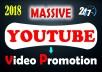 Video Promotion Youtube Marketing Social Media