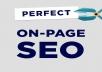 Perfect On Page SEO Optimization