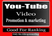 Advertise Organic Youtube Promotion Real people seeing your video