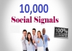 add 10,000 pinterest social signals from high authority social media sites