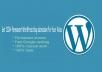 1200 WordPress blog submission