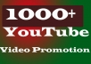 Instant start YouTube Video Promotion In 5-6H